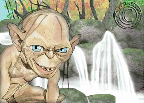 GOLLUM_SMEAGOL_DAY_by_xavier_hourlier