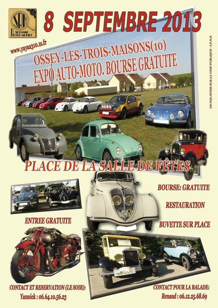 Flyer Expo bourse 2013 A4 V2