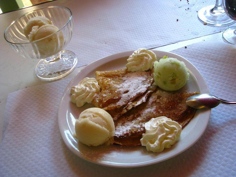 Dessert perso, j'aime ! Saint-Cirq-Lapopie.