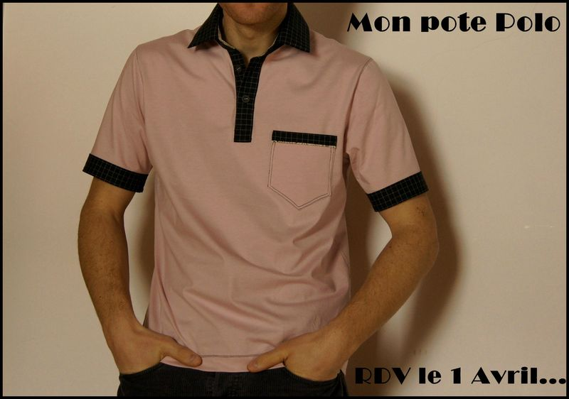 patron couture polo homme