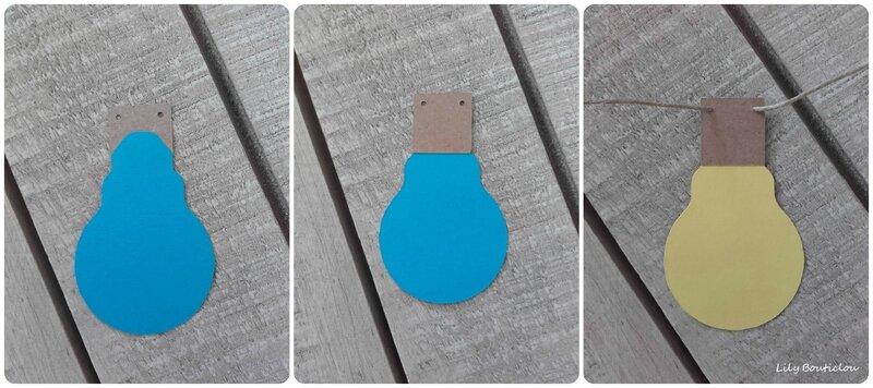guirlande ampoules guinguette papier carton lilybouticlou
