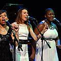 Jazz gospel avec fanny denni, axelle lubert, corinne sahraoui, et le trocadero sextet