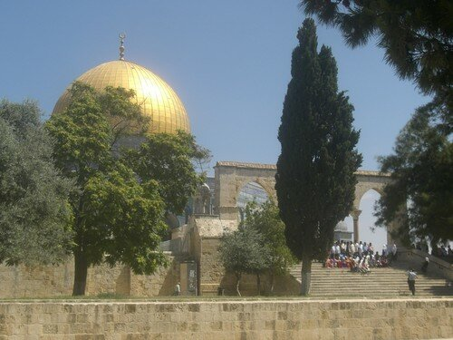 Dome du rocher, Jerusalem