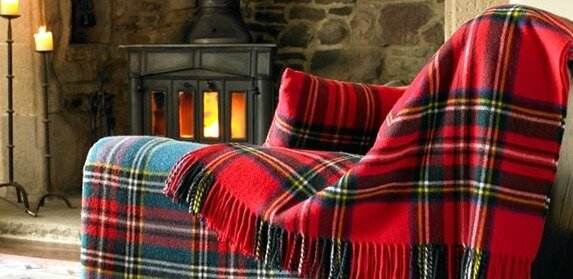 tartan-throw