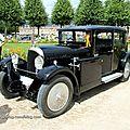 Avions voisin type C11 berline 4 portes de 1927 (9ème Classic Gala de Schwetzingen 2011) 01