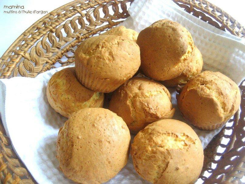 muffins huile d'argan