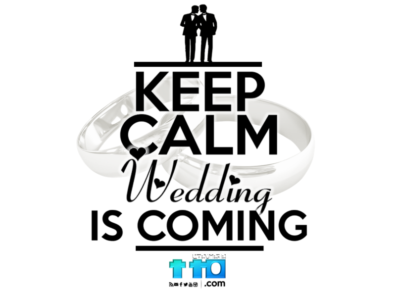 KEEP CALM WEDDING IS COMING