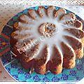 Cake à la chicorée et aux noix