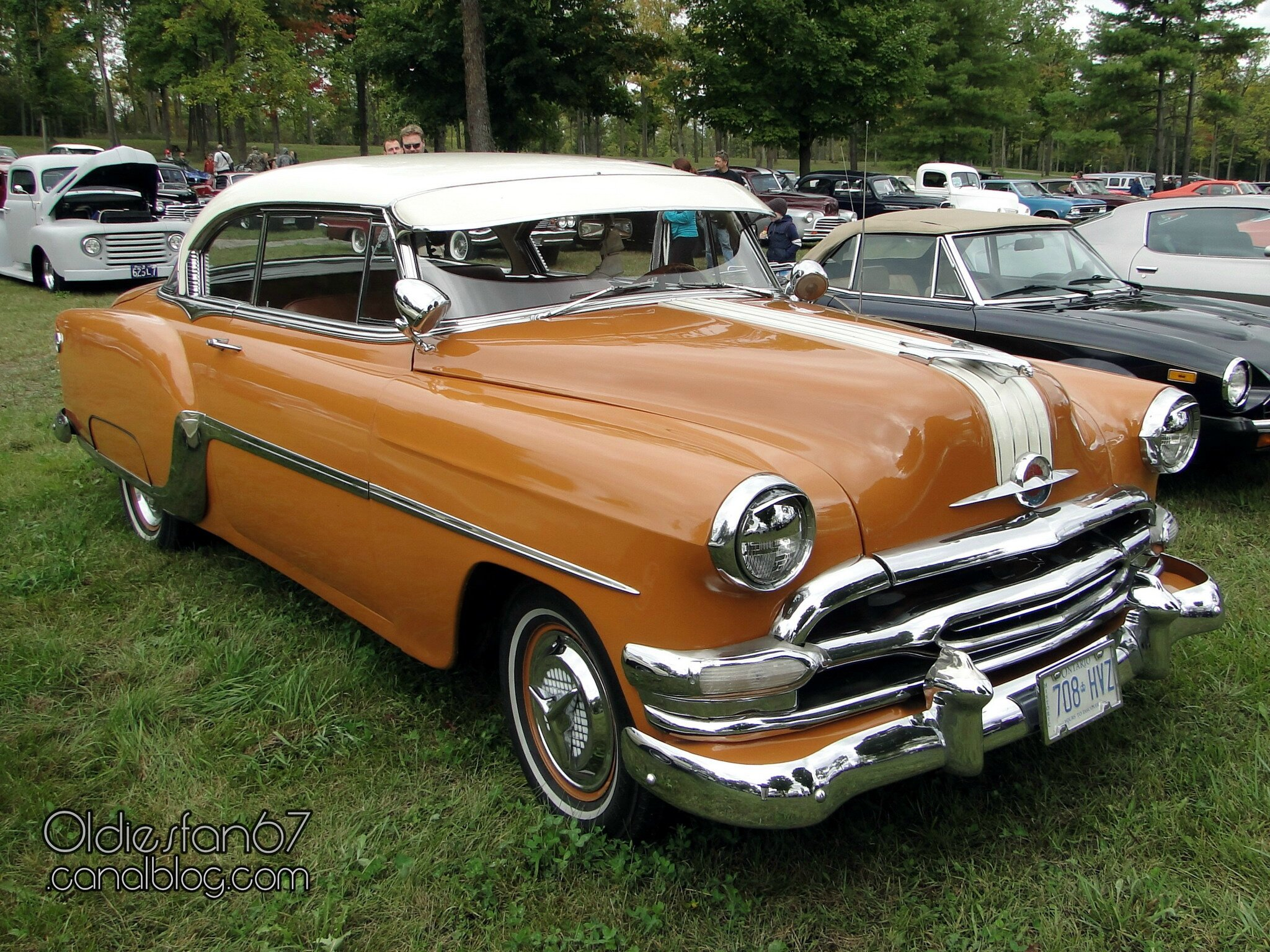 Pontiac laurentian sport hardtop coupe 1954 oldiesfan67 quot mon blog