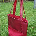 sac bimatière rouge 038