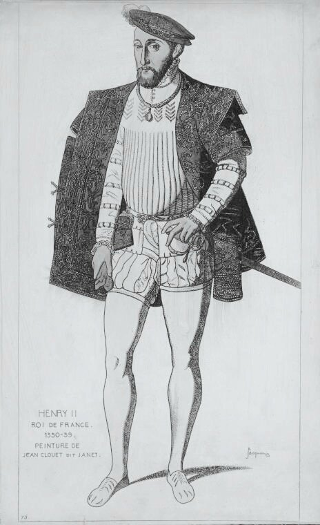 Henri II dessin Jacquemin n&b - 1