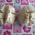 Deux pâtes feuilletés