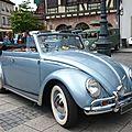 VOLKSWAGEN Coccinelle cabriolet 1957 Molsheim (1)