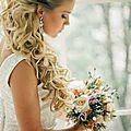 Idées coiffure mariage sur cheveux longs