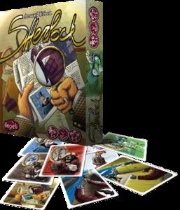 Boutique jeux de société - Pontivy - morbihan - ludis factory - Sherlock