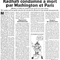 le Canard Enchan rvle que Obama et Sarkozy ne voulaient pas Kadhafi vivant