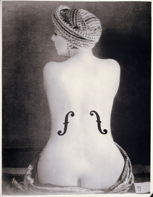 Man Ray violon d'ingres