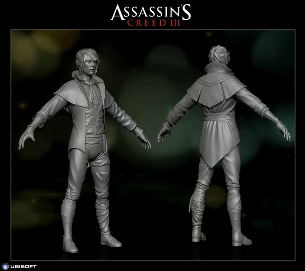 ACIII_Fillan McCarthy_The Robber_HighPoly