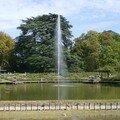 Le tableau des dahlias du parc floral d'orléans