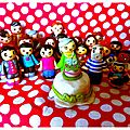 Commandes de figurines en fimo