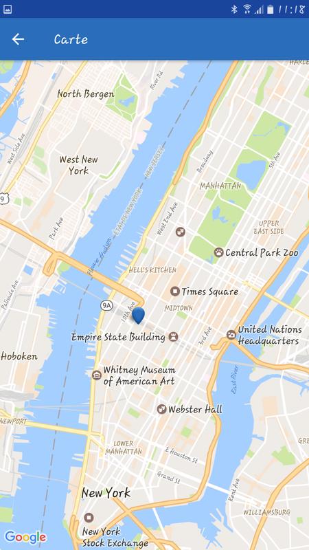 le point bleu c'est notre appartement !