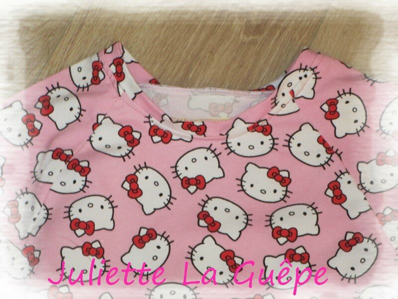 pyja long rose hello kitty4