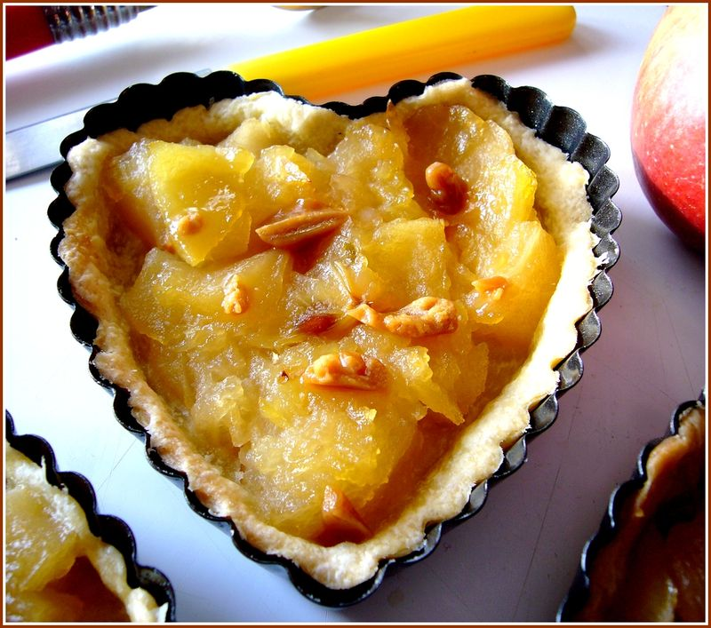 Tartelette poire fève tonka