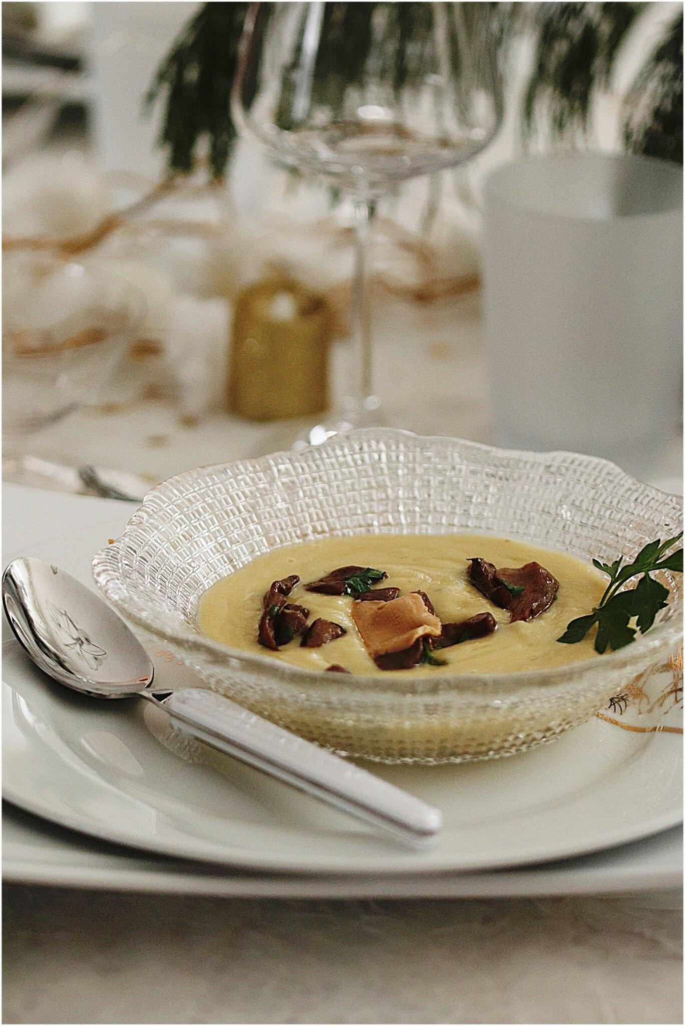 velouté de cèpes au foie gras