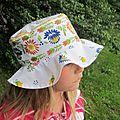 Defi 13 de juillet : sacs et chapeaux