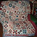 Patchwork en broderie