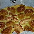 Clafoutis à la poire sans lactose sans gluten