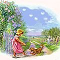 Gratitude: 1 beau souvenir: mon enfance à la ferme