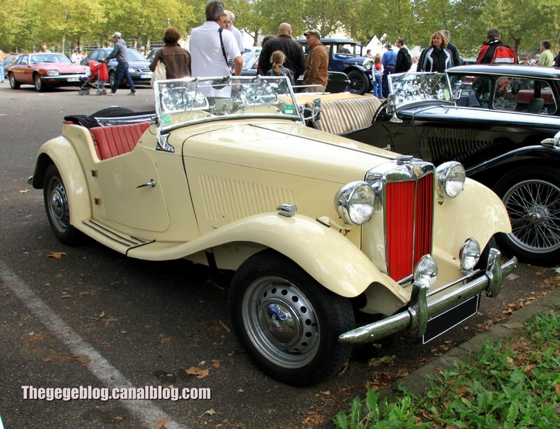 Mg TD roadster (Retrorencard septembre 2013) 01