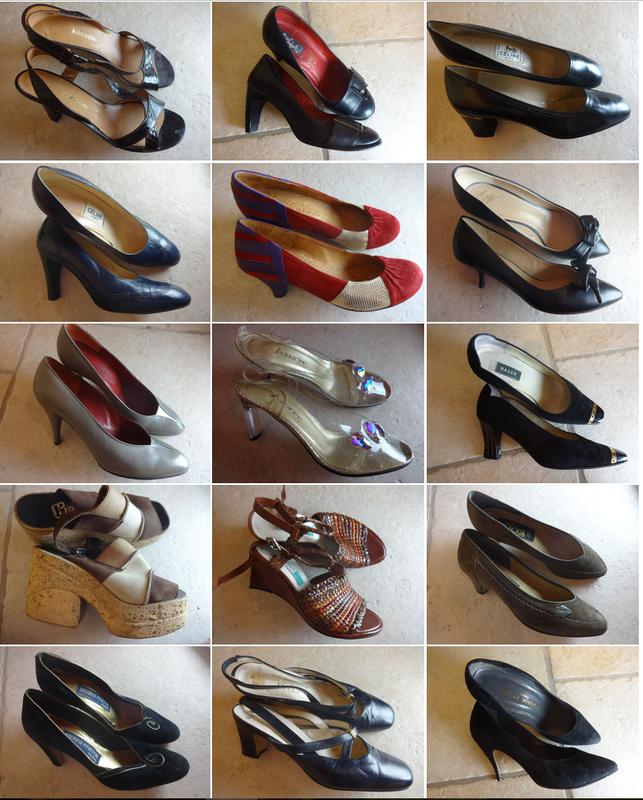 chaussures juillet 16