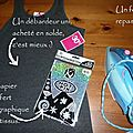 Do it yourself : le tee-shirt origami & holographique ! ♥