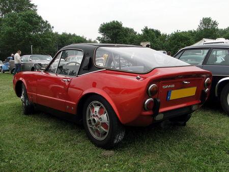 SAAB Sonett II Coupe 1968 Retro meus Auto Lac de Madine 2010 2