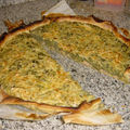 Quiche de Popeye