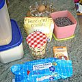 Cookies au nougat et au chocolat