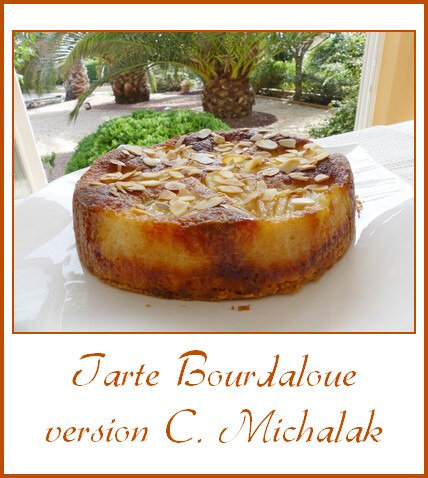 Tarte Bourdaloue version C. Michalak