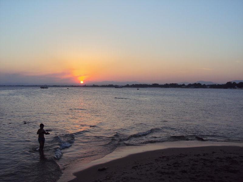 Le coucher de soleil du lundi 23 août 2010
