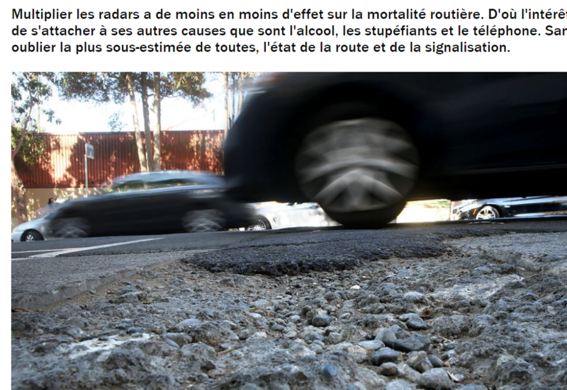 route pourrie