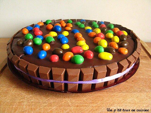 tags chocolat gteau anniversaire kinder lait concentr sucr mascarpone mms mousse vanille