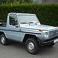 MERCEDES Classe G 300 GD pick-up 1981 Riedseltz (1)
