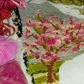 Cerisiers en fleurs.....