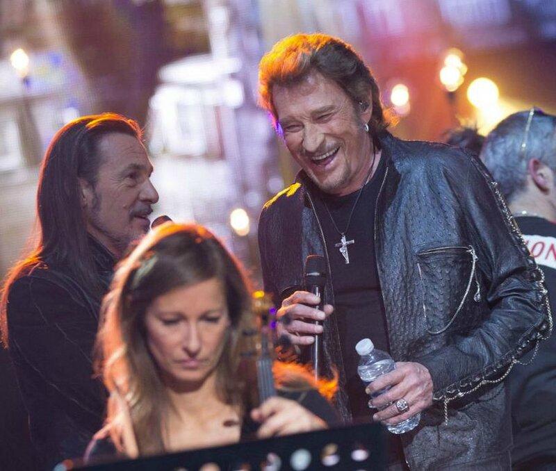 Johnny le 03 janvier 2014 sur TF1 (3)