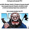 Le monde entier a vu le visage des parrains du terrorisme mondial et que la coalition dirigée par les usa est une imposture.