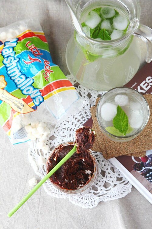 mug cake chocolat cacahuete marsmallow 00001 LE MIAM MIAM BLOG
