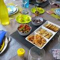 Une table aux couleurs de l'été...