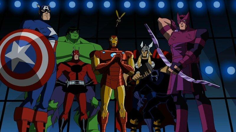 L 39 avenir des dessins anim s marvel comixheroes - Dessin anime avengers ...