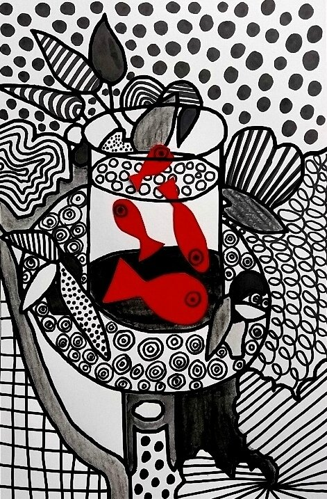 254_Noir et blanc_Du graphisme avec Matisse (48B)